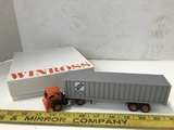 WINROSS 1/64 SCALE INTER - STATE MOTOR CARRIERS SEMI TRUCK & TRAILER