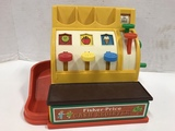 FISHER PRICE CASH REGISTER W/ COINS