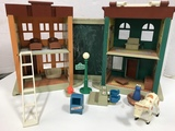 FISHER PRICE SESAME STREET PLAY FAMILY HOUSE