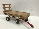 HOME MADE TOY  HAY WAGON