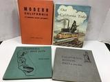 (4) VINTAGE CALIFORNIA STATE SERIES BOOKS