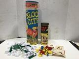 BLOCK CITY & KRAZY IKES BUILDING TOYS