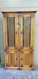(2) TWO DOOR CABINETS