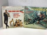 1960'S JAMES BOND 007 LP VINYL RECORDS