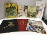 SEVERAL VINTAGE BOOKS & MAGAZINES ALSO KEN PAPER DOLLS