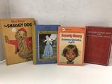 (4) VINTAGE CHILDREN'S BOOKS