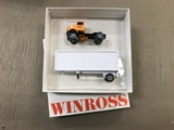 WINROSS 1/64 SCALE YELLOW FREIGHT LINES SEMI TRUCK & TRAILER