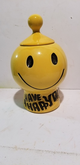 McCOY HAPPY DAY / SMILING FACE COOKIE JAR