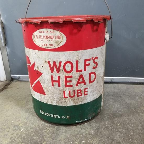 WOLF'S HEAD 35# LUBE BUCKET