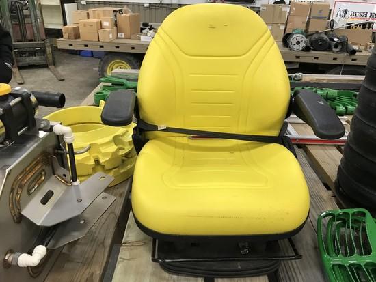 NEW MILSCO XA SERIES JOHN DEERE TRACTOR SEAT W/ RAISE / LOWER CONTROL