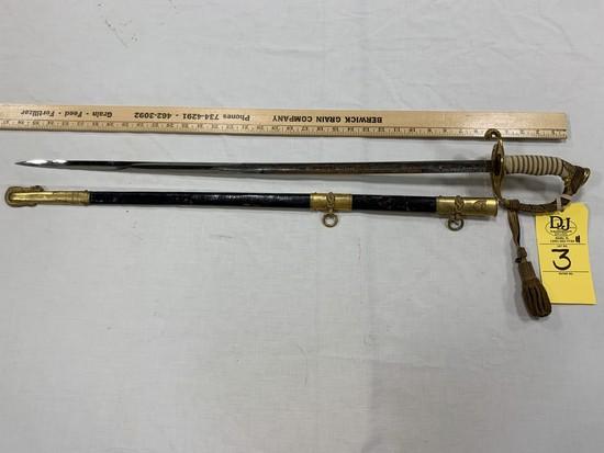 COAST GUARD OFFICERS' SWORD - MODEL 1915