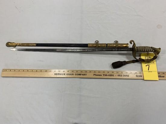 NAVAL OFFICERS' SWORD - MODEL 1852