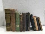 (11) ASSORTED VINTAGE /ANTIQUE BOOKS