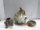 (3) MISC. POTTERY ITEMS