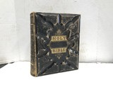 1880'S PICTORIAL FAMILY BIBLE