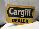 CARGILL DEALER DOUBLE SIDED METAL FENCE SIGN