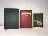 (3) ASSORTED MILITARY SONG / POEM BOOKS