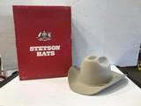 TAN STETSON COWBOY HAT