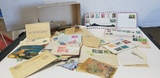 BULK LOT ASSORTED U.S. & FOREIGN POSTAGE STAMPS