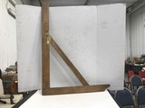 VINTAGE WOODEN WOODWORKING SQUARE