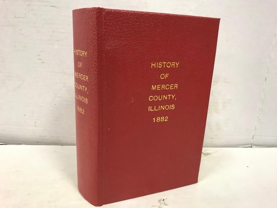 HISTORY OF MERCER CO. ILLINOIS 1882