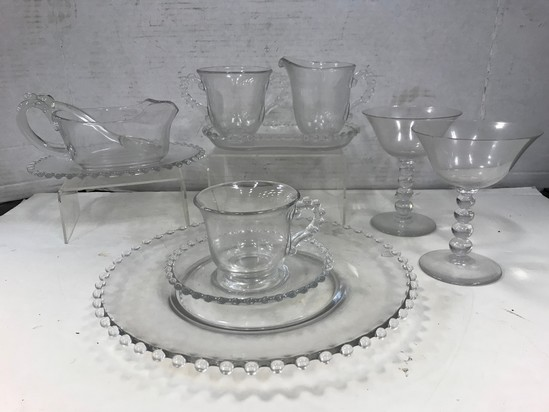 CANDLEWICK DISHES & STEMWARE
