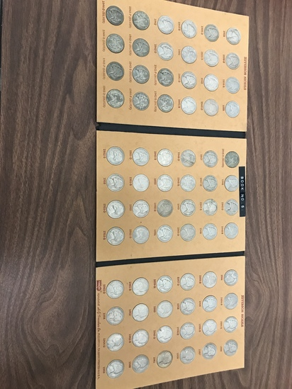 TREAT JEFFERSON NICKEL COIN FOLDER #1 FULL ON NICKELS