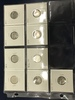 (9) SEATED LIBERTY DIMES VARIETY 2 & 4