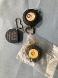 (3) ADVERTISING TAPE MEASURE KEY CHAINS