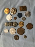 ASSORTED TOKENS / COINS