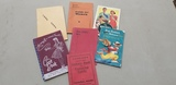ASSORTED VINTAGE COOKBOOKS & HOUSEHOLD BOOKS