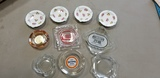 (10) ASSORTED ADVERTISING AND OTHER ASHTRAYS