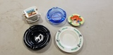 (5) VINTAGE ADVERTISING AND OTHER ASHTRAYS