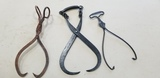 (3) ASSORTED HOSEHOLD ICE TONGS