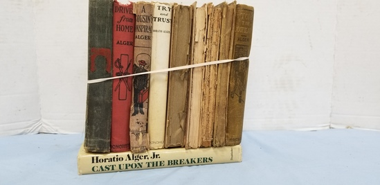 (10) HORATIO ALGER BOOKS
