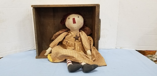 DRAWER  W RAG DOLL