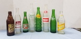 (8) ASSORTED BEVERAGE BOTTLES