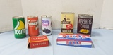 ASSORTED FOOD & HOUSEHOLD CANS / CONTAINERS