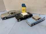 (3) ASSORTED COLLECTABLE MODEL CARS