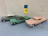(3) ASSORTED COLLECTABLE / PROMO CARS