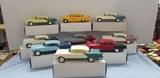 (9) X-EL COLLECTORS SERIES CARS