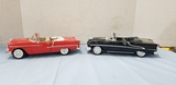 (2)WELLY ERTL 1:18 DIE CAST CARS