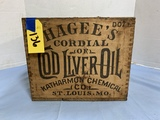 HAGEES COD LIVER OIL BOX