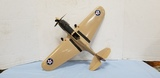 ANTIQUE THIMBLE DROME P-40 WARHAWK AIRPLANE