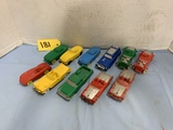 ASSORTED RUBBER CARS