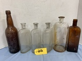 ASSORTED MEDICINE DRUG STORE BOTTLES
