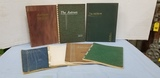 (7) EARLY 1900'S ASTRUM YEARBOOKS ALEDO ILLINOIS