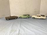 (3) RAMBLER  PROMO CARS