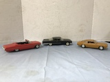(3) FORD PROMO CARS