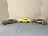 (3) MONTE CARLO PROMO CARS